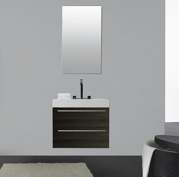 LADA Domino T690 Compact Wall Hung Bathroom Vanity Set 27