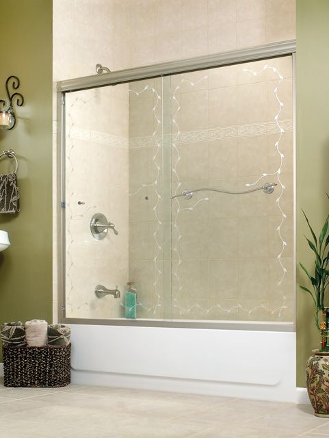 MAAX Vine - 105495 Frameless Tub Sliding Doors