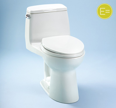 Toto Ultramax MS854114SG One-Piece Toilet