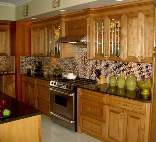 Kitchen Backsplash Design Idea 2