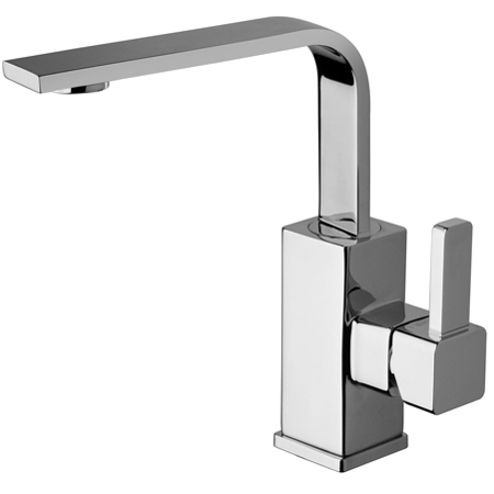 La Torre Java 28601 Single Hole Side Lever lavatory faucet with pop-up drain