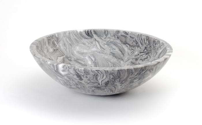 Dreamline Natural Stone Vessel Sink DLVNF-001-OVFL Overlord Flower