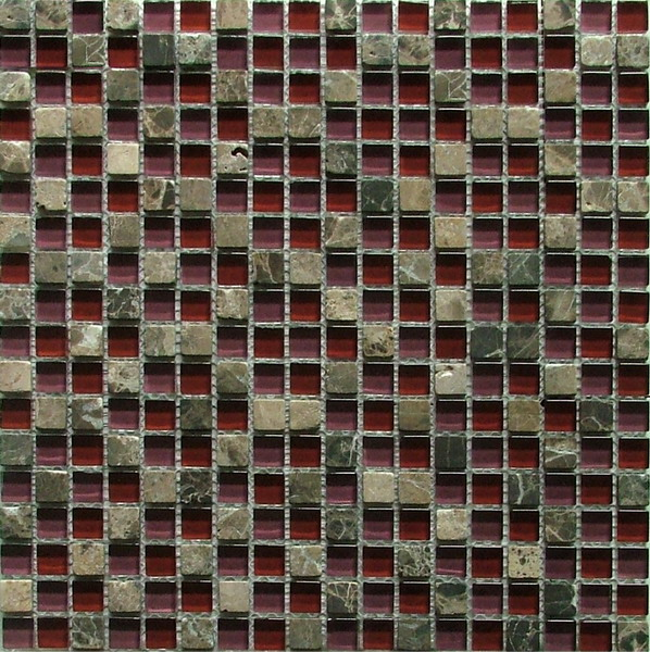 LADA GS31 Glass & Stone Mixed Series Mosaic Tile