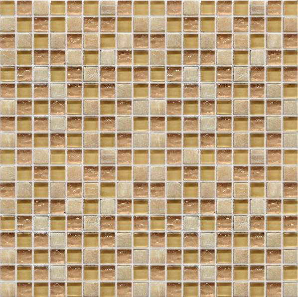 LADA GS57 Glass & Stone Mixed Series Mosaic Tile