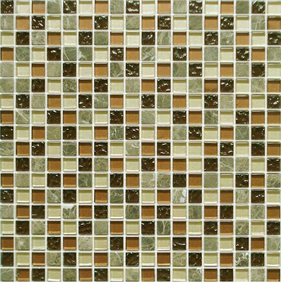 LADA GS60 Glass & Stone Mixed Series Mosaic Tile