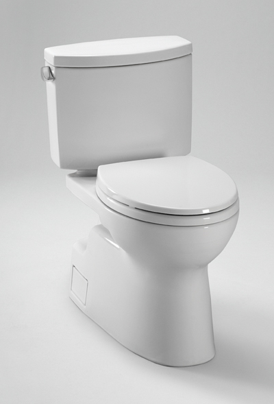 Toto Vespin II CST474CEFG Two-Piece Toilet with SanaGloss 1.28GPF