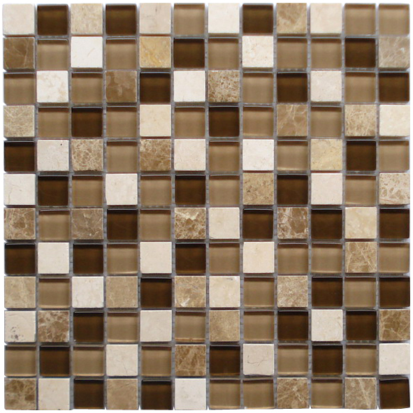 LADA GS67 Glass & Stone Mixed Series Mosaic Tile