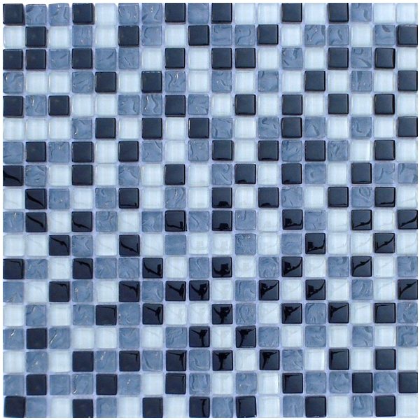 LADA GA03 Mixed Crystal Series Glass Mosaic Tile