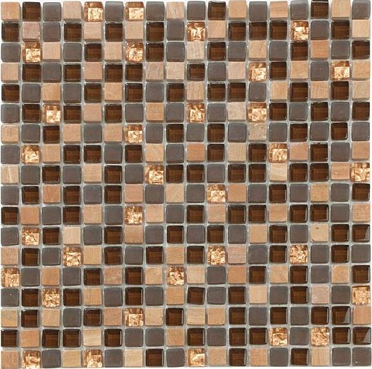 Mirage Op08 Once Series Toffee Crunch Mosaic Tile