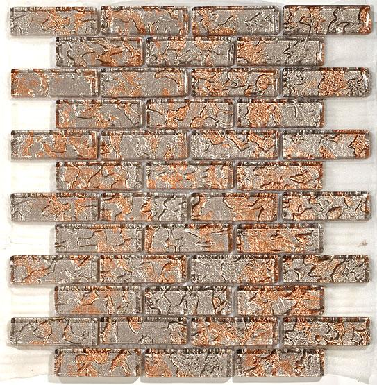 Mirage TM10 Temptation Series Peach Blend Mosaic Tile