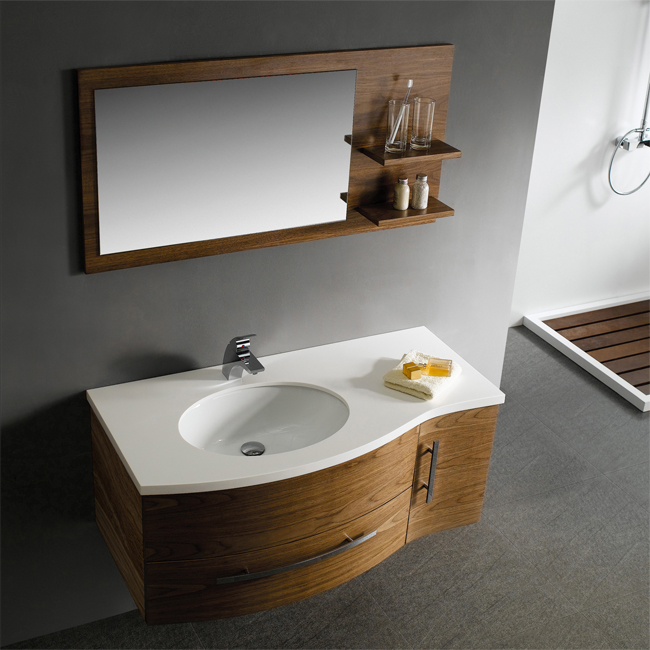 Vigo VG09005108LHK Solid Wood Walnut Bathroom Vanity Set 44