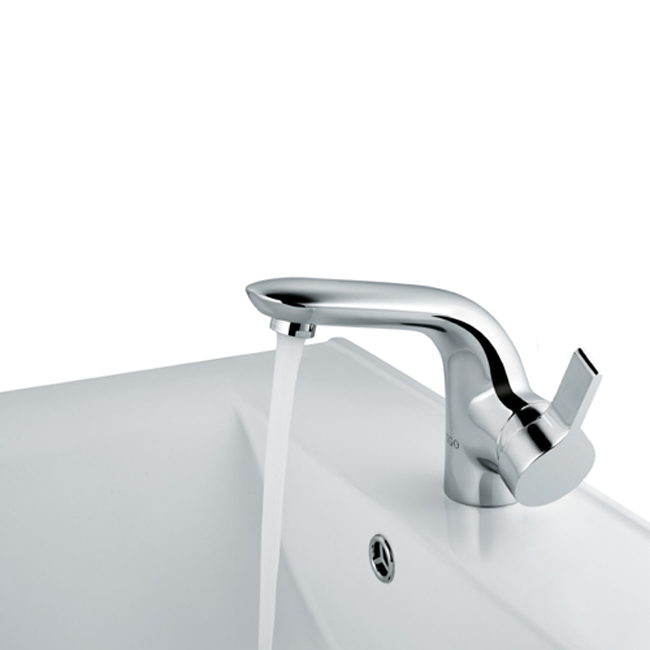 Vigo VG01027CH Single Lever Bathroom Lavatory Sink Faucet