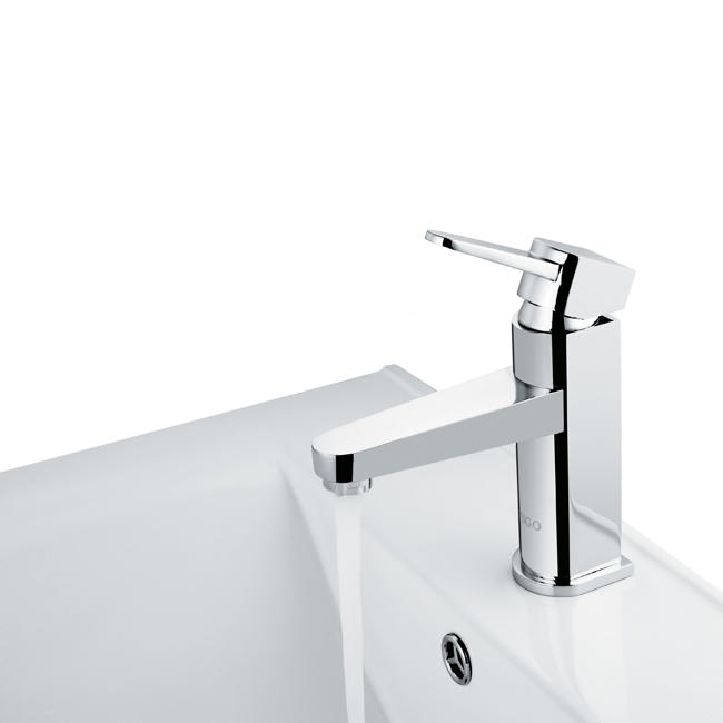 Vigo VG01030CH Single Lever Bathroom Lavatory Sink Faucet