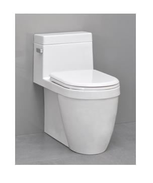 Icera Muse C-6190 One-Piece Comfort Height Elongated Toilet with soft close seat