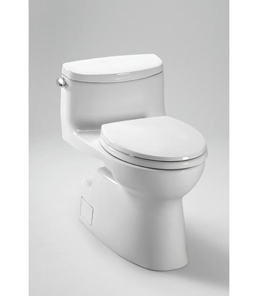 Toto MS644114CEFG Carolina II One-Piece High-Efficiency Toilet with SanaGloss