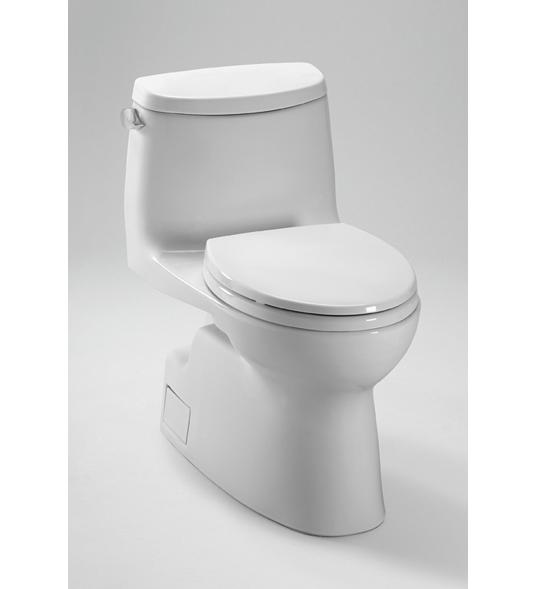 Toto MS614114CEFG Carlyle II One-Piece High-Efficiency Toilet with SanaGloss