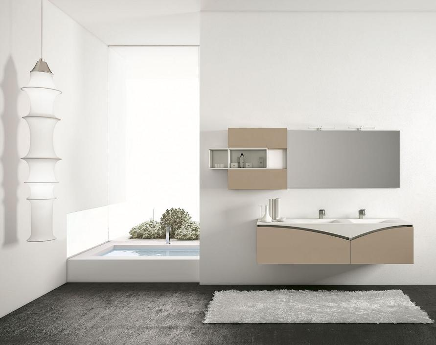 BMT FLY Comp. 2 Double Sink Bathroom Vanity 71