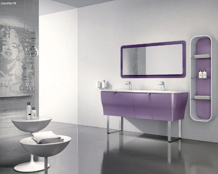 BMT Calypso Comp. 11 Double Sink Bathroom Vanity 64
