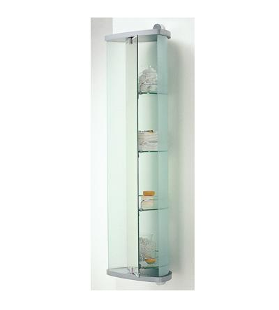 Capannoli Luna Wall Hung Storage Caddy with Shelves