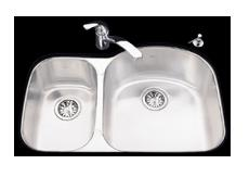 Kindred UCL2132/90RK/E Undercounter SS Sink
