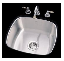 Kindred US1719/90RK/E Undercounter SS Sink