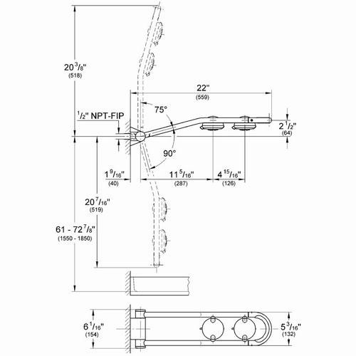 grohe freehander 27 007 shower system