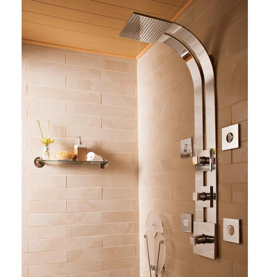 Universal ceramic tiles new york brooklyn faucets for Body spray shower systems