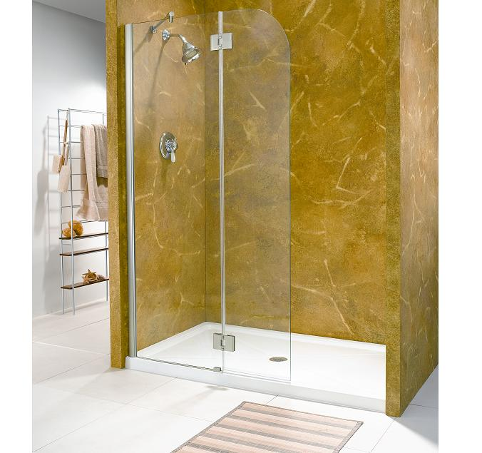 curved shower door glass shower doors