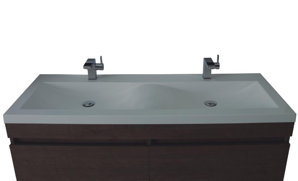Attirant Double Wide Undermount Bathroom Sink Thedancingpa Com