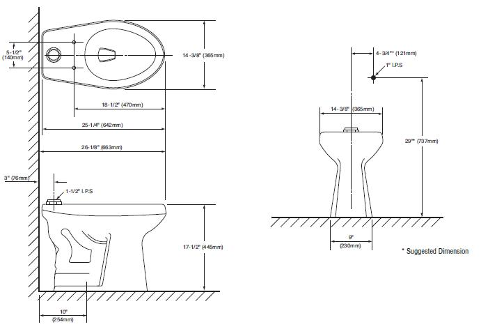 Commercial Bathroom Layout Dimensions