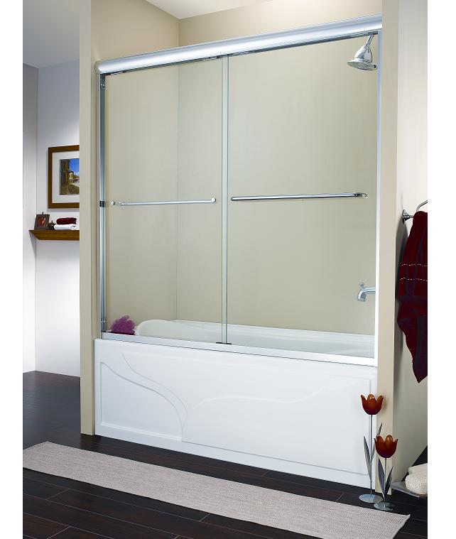 Dreamline sliding tub doors dreamline showers shower doors and shower