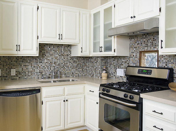 White Cabinet Kitchen Tile Backsplash Ideas 48 Image Wall Shelves Custom Backsplash Tile With White Cabinets
