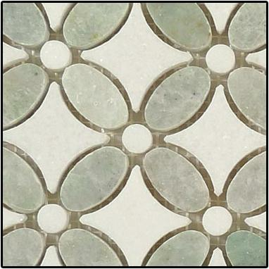 green mosaic tile floor universal ceramic tiles new york brooklyn kitchens kitchen